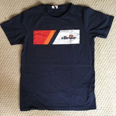 NEW MARKDOWN!!!! vintage ellesse tee // unisex, but sizing is according to women's -- so in men's it would be a SMALL // #vintage #unisex #ellesse #vintagetees - Depop