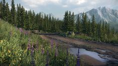 Joakim Stigsson, environment artist at DICE, has been experimenting lately with CRYENGINE and created a spectacular mountain map. Rendering Techniques, More Images, Unreal Engine, Environment Design, Environmental Art, Landscape Art, Beautiful Pictures, Scene, The Incredibles