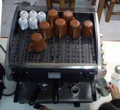 Cafetera Faema 1 Grupo, Con Molino Y Ablandador De Agua. - $ 28,000.00
