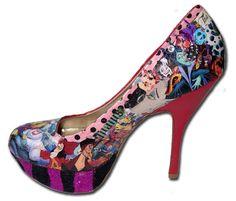 Disney Villains Custom Made Women's High by MadHatterDesigns87, $95.99