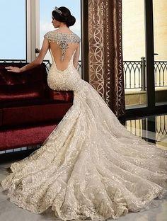 #ramisalamoun Wedding Gown