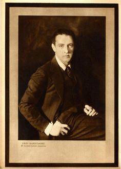 John Barrymore, Screenland, August 1923