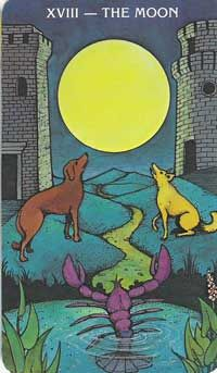 Mommavswiccanway: Tarot-The Moon