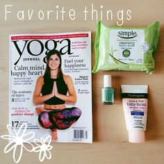 Friday favorites #iwillnotwisper #fridayfavorites #blog @yogajournal @simpleskincare_us