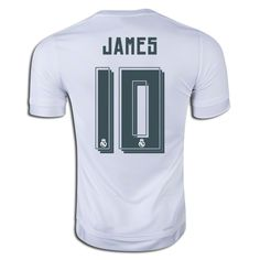 adidas James Rodriguez Real Madrid Home Jersey 15/16 L