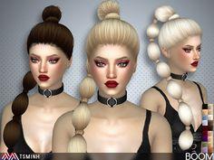 Sims 4 CC's - The Best: BOOM ( HAIR 39 ) by TsminhSims