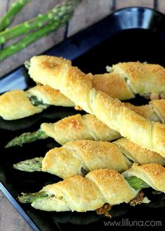 Cream Cheese and Parmesan Asparagus