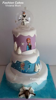 Frozen Cake - Cake by fashioncakesviviana