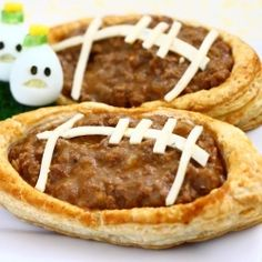 Football Meat Pies....GAme DAy
