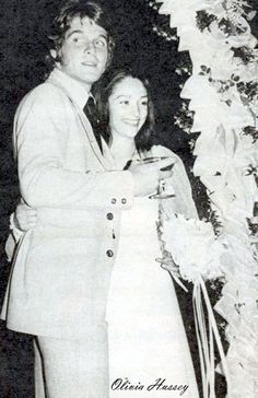 Dean Paul Martin and Olivia Hussey
