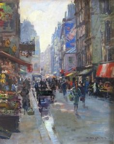 Daan Muehlhaus   Rue Mouffetard, Parijs