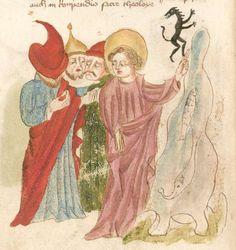 Weltchronik. Sibyllenweissagung. Antichrist  BSB Cgm 426, Bayern,  3. Viertel 15. Jh  Folio 120