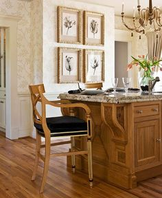 Stylish Islands for Traditional Kitchens - Traditional Home®