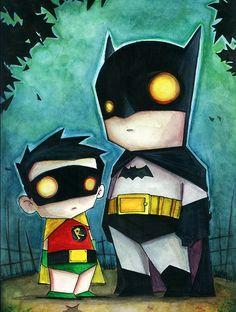 Batman & Robin - Chris Uminga
