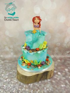 Little Mermaid Cake  on Cake Central