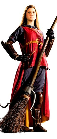 I'd love to do this as a costume! Not Ginny specifically, just the Quidditch uniform.