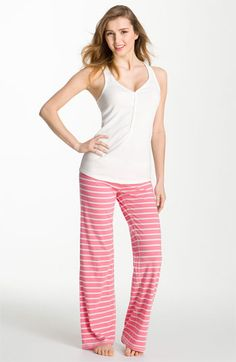 Make + Model Tank & Lounge Pants  Another reason to linger longer in bed.  Make + Model 'Flirt with Me' Tank