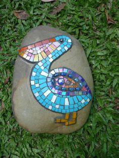 Pelican #mosaic #garden #art