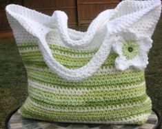 Spring Fling Bag, Crochet Pattern Pdf, Instant Pattern Download Available