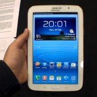 Samsung Galaxy Note 8.0 S Pen tablet hands-on video from MWC 2013