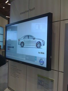 Digital Signage touch screen ...