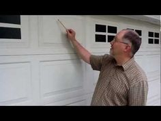 """Faux Windaux"" tm faux fake garage door windows - installation Awesome!"