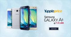 Grab #Galaxy A5 at lowest price online.  Shop Now: http://bit.ly/2aYFE7H  #YupplePrice #PriceCompare