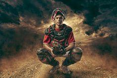 High School Senior Enhancement Session Baseball, Catcher, Sports  Joshua Hanna Photography Cross Lanes, Charleston, Huntington, WV, West Virginia