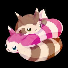 furret y furret shiny Ghost Type Pokemon, All Pokemon, Cute Pokemon, Pokemon Cards, Pokemon Stuff, Pokemon Backgrounds, Deadpool Pikachu, Character Wallpaper, Pokemon Pictures
