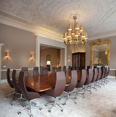 Office interiors of global insurance firm XL Group plc at Dublin, Ireland