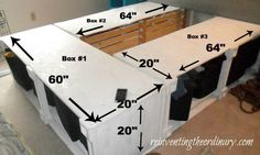Reinventing the Ordinary: Knockoff Pottery Barn Bed DIY...Measuring 411