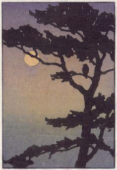 Ray Heus Biography, Woodblocks and Paintings Landscape Drawings, Landscape Paintings, Woodcut Art, Art Japonais, My Art Studio, Diy Canvas Art, Art Background, Print Artist, Woodblock Print