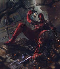 #Deadpool #Venom