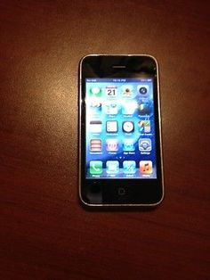 Apple iPhone 3GS 16GB Black AT&T FACTORY UNLOCKED Ver 6.1.6 Warranty! | eBay