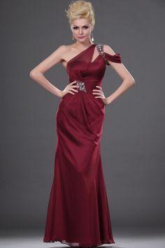 紫色のビーズの恋人400 1lf2012長いファッションのイブニングドレス/カクテルドレス
