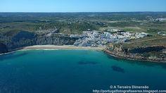A Terceira Dimensão - Fotografia Aérea: Praia do Burgau