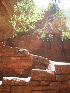 Hiking the Angels Landing Trail in Zion National Park, Utah