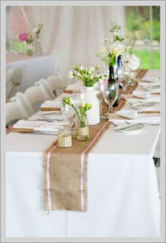 Eye Candy: Burlap Bliss | Wedding Paper Divas Blog