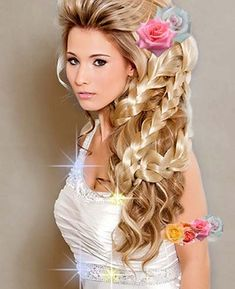 this looks so fake omg i wish i was good with hair but i cant even braid right.. #Hair #Beautiful #hairstyles