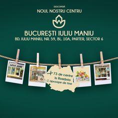 De astăzi, vă așteptăm și în centrul Natur House București - Iuliu Maniu! Ne găsiți pe bulevardul Iuliu Maniu, nr. 59, bl. 10A, parter, sectorul 6. Centrul este deschis zilnic, de lunea până vinerea, între orele 10-19. Natur House, Roman, Alexandria, Poster, Alexandria Egypt, Billboard