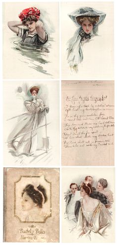 harrison fisher illustrations