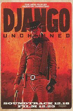 Official theatrical movie poster ( of for Django Unchained Directed by Quentin Tarantino. Movie Poster Art, Poster S, Christoph Waltz, Quentin Tarantino, Tarantino Films, Great Films, Good Movies, Django Desencadenado, Leonardo Dicaprio