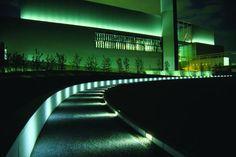 LED Hiroshima City Naka Incineration Designer: Kaoru Mende of Lighting Planners Associates in Tokyo, Japan. Teostatud LED valgustitega