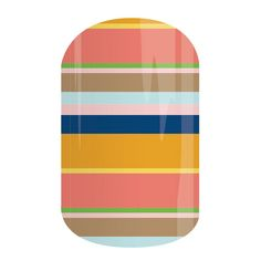 Beach Chair | Jamberry  See 300+ nail wrap designs and order at: https://jackieshaw.jamberry.com/us/en/