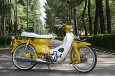 "rejuvenation of old motorcycle ""honda 70"""