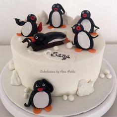 Pingu!!! - Cake by Cakelicious by Anu Mehta