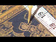 SAMADHI + ART = SAGYEONG, Korean Traditional Illuminated Sutra Exhibition - YouTube