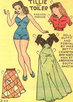 Tillie the Toiler Fashion Parade 3-23-41