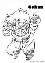 dragon ball z coloring pages on coloring bookinfo - Super Saiyan Gohan Coloring Pages