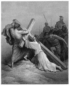 51. Jesus Falling Beneath the Cross (Gustave Doré)